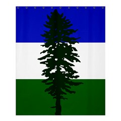 Flag Of Cascadia Shower Curtain 60  X 72  (medium)  by abbeyz71