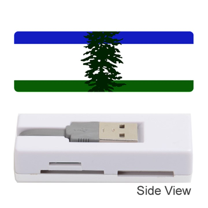 Flag of Cascadia Memory Card Reader (Stick)