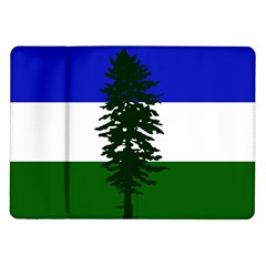 Flag Of Cascadia Samsung Galaxy Tab 10 1  P7500 Flip Case by abbeyz71
