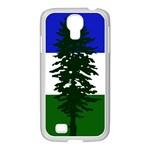 Flag of Cascadia Samsung GALAXY S4 I9500/ I9505 Case (White) Front