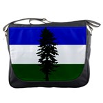 Flag of Cascadia Messenger Bags Front