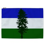 Flag of Cascadia Cosmetic Bag (XXL)  Front