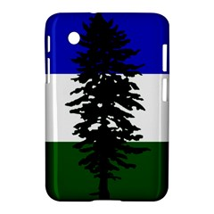 Flag Of Cascadia Samsung Galaxy Tab 2 (7 ) P3100 Hardshell Case  by abbeyz71