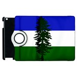 Flag of Cascadia Apple iPad 3/4 Flip 360 Case Front