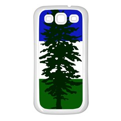 Flag Of Cascadia Samsung Galaxy S3 Back Case (white)