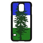 Flag of Cascadia Samsung Galaxy S5 Case (Black) Front