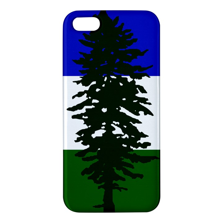 Flag of Cascadia iPhone 5S/ SE Premium Hardshell Case