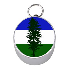 Flag Of Cascadia Mini Silver Compasses by abbeyz71