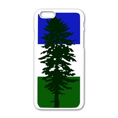 Flag Of Cascadia Apple Iphone 6/6s White Enamel Case by abbeyz71