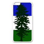 Flag of Cascadia Apple iPhone 6 Plus/6S Plus Enamel White Case Front