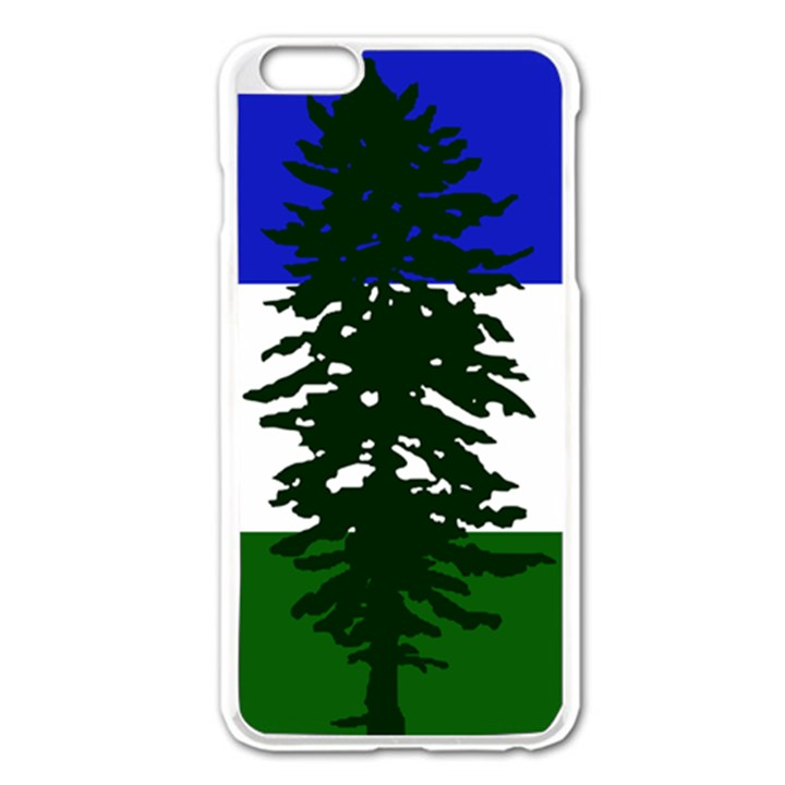 Flag of Cascadia Apple iPhone 6 Plus/6S Plus Enamel White Case