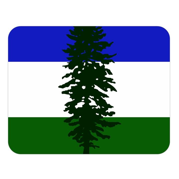 Flag of Cascadia Double Sided Flano Blanket (Large)