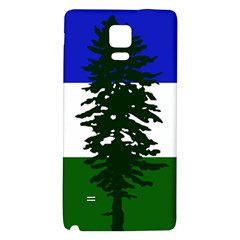 Flag Of Cascadia Galaxy Note 4 Back Case by abbeyz71