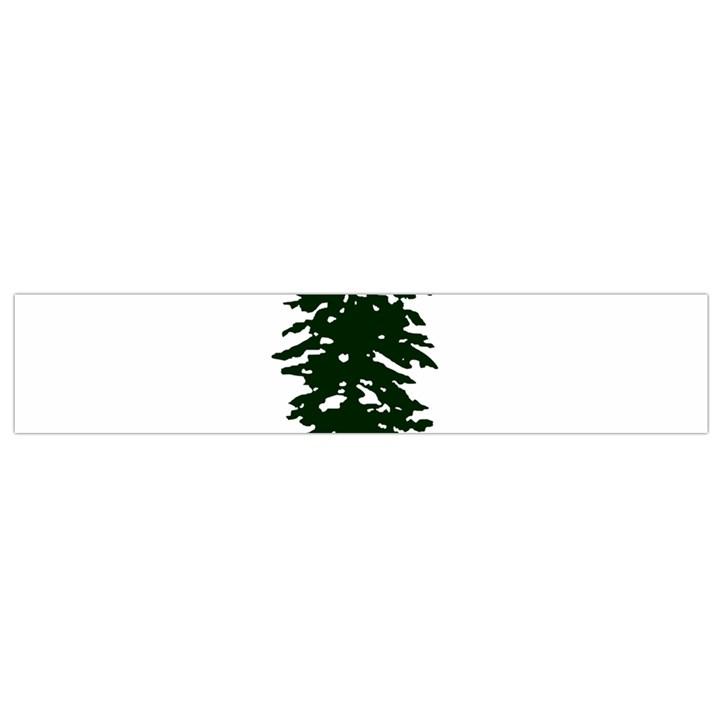 Flag of Cascadia Small Flano Scarf