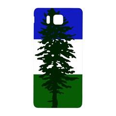 Flag Of Cascadia Samsung Galaxy Alpha Hardshell Back Case by abbeyz71
