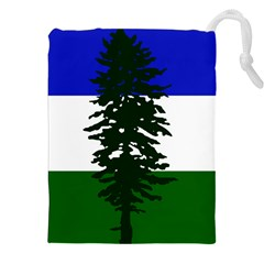 Flag Of Cascadia Drawstring Pouches (xxl) by abbeyz71