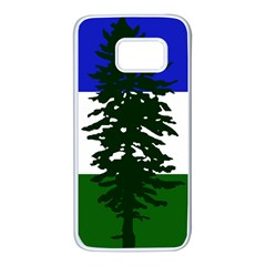 Flag Of Cascadia Samsung Galaxy S7 White Seamless Case by abbeyz71