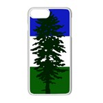 Flag of Cascadia Apple iPhone 7 Plus Seamless Case (White) Front