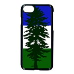Flag of Cascadia Apple iPhone 7 Seamless Case (Black) Front