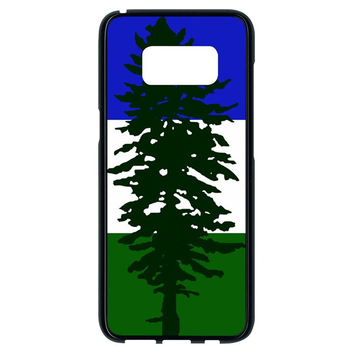 Flag of Cascadia Samsung Galaxy S8 Black Seamless Case