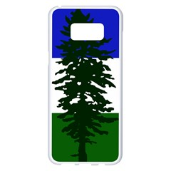Flag Of Cascadia Samsung Galaxy S8 Plus White Seamless Case by abbeyz71
