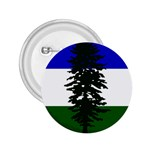 Flag of Cascadia 2.25  Buttons Front