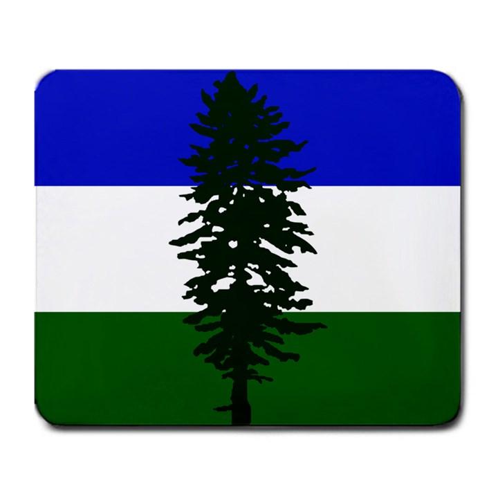 Flag of Cascadia Large Mousepads