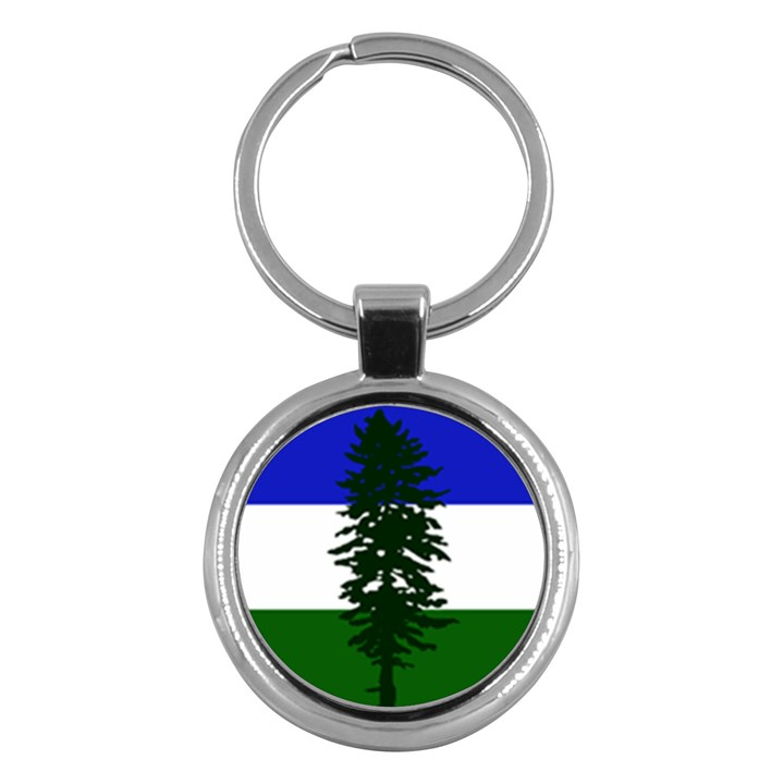 Flag of Cascadia Key Chains (Round)