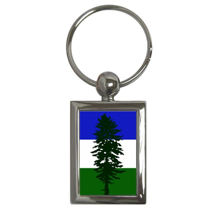 Flag of Cascadia Key Chains (Rectangle)
