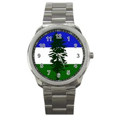 Flag Of Cascadia Sport Metal Watch by abbeyz71