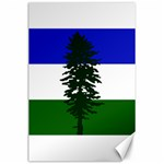 Flag of Cascadia Canvas 24  x 36  36 x24 Canvas - 1