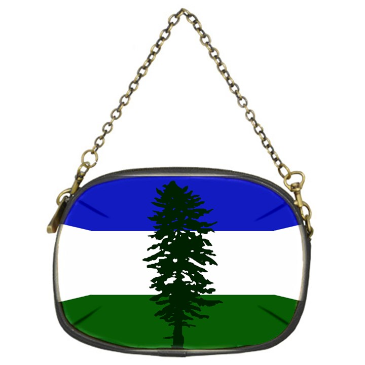 Flag of Cascadia Chain Purses (One Side)