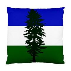 Flag Of Cascadia Standard Cushion Case (one Side)