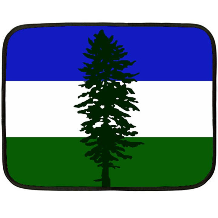 Flag of Cascadia Fleece Blanket (Mini)
