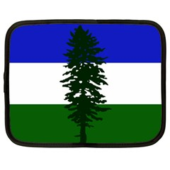 Flag Of Cascadia Netbook Case (xxl)  by abbeyz71