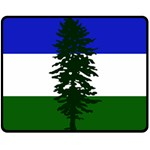 Flag of Cascadia Fleece Blanket (Medium)  60 x50 Blanket Front