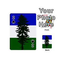 Flag Of Cascadia Playing Cards 54 (mini)  by abbeyz71