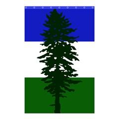 Flag Of Cascadia Shower Curtain 48  X 72  (small)  by abbeyz71