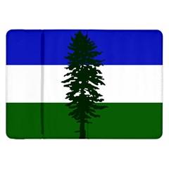 Flag Of Cascadia Samsung Galaxy Tab 8 9  P7300 Flip Case by abbeyz71
