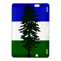 Flag Of Cascadia Kindle Fire Hdx 8 9  Hardshell Case by abbeyz71
