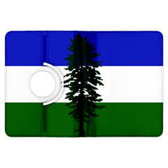 Flag Of Cascadia Kindle Fire Hdx Flip 360 Case by abbeyz71