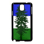 Flag of Cascadia Samsung Galaxy Note 3 Neo Hardshell Case (Black) Front