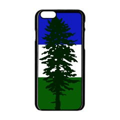 Flag Of Cascadia Apple Iphone 6/6s Black Enamel Case by abbeyz71