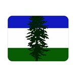 Flag of Cascadia Double Sided Flano Blanket (Mini)  35 x27 Blanket Back