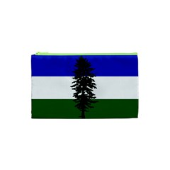 Flag Of Cascadia Cosmetic Bag (xs) by abbeyz71