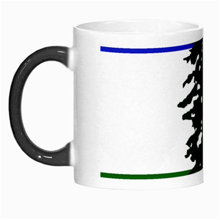 Flag of Cascadia Morph Mugs