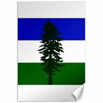 Flag of Cascadia Canvas 20  x 30   30 x20 Canvas - 1