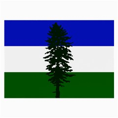 Flag Of Cascadia Large Glasses Cloth (2 Side)