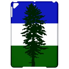 Flag Of Cascadia Apple Ipad Pro 9 7   Hardshell Case by abbeyz71