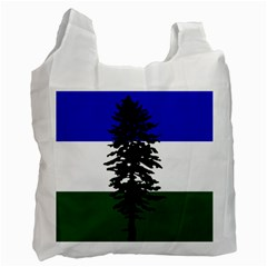 Flag Of Cascadia Recycle Bag (two Side)  by abbeyz71